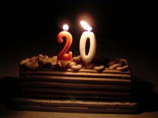 20歳の誕生日おめでとう!!