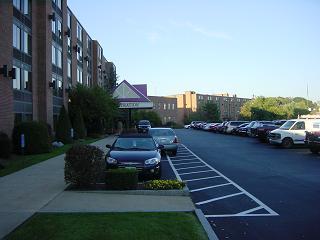 宿泊しているホテル