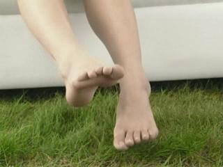 璃子ちゃんの足の裏