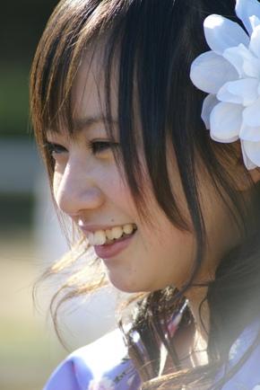 minaちゃん横顔♪